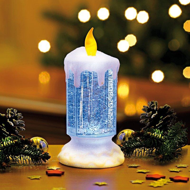 Vela de agua mágica con luz LED cambia de color