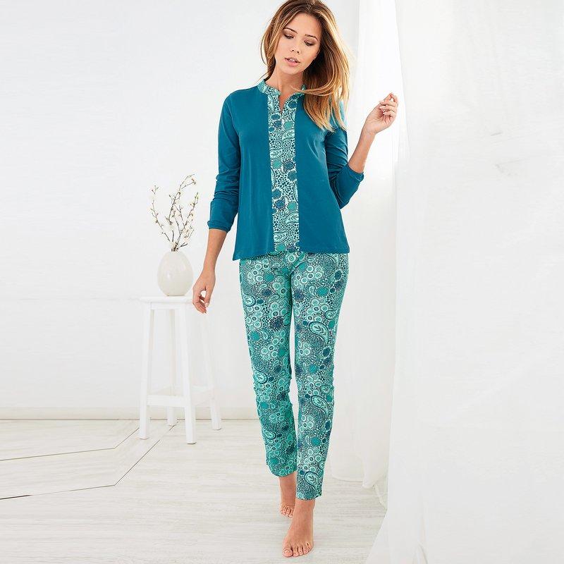 Pijama 2 piezas camiseta mao y pantalón estampado