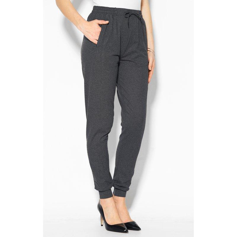 Pantalón de felpa con cintura elástica y puños