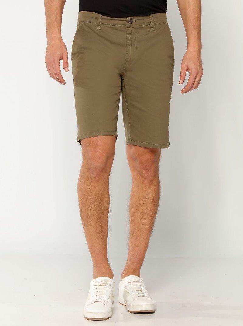 Shorts hombre algodón estilo chinos