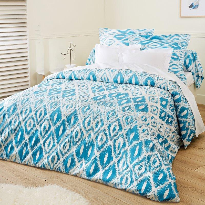 Juego cama Rombos encimera + funda almohada