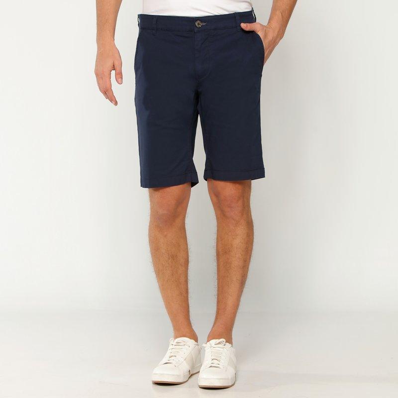 Bermuda pantalón corto corte chino algodón