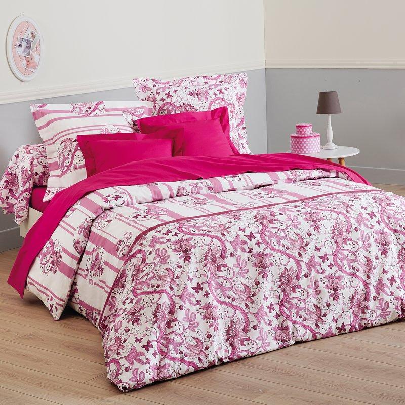 Juego cama MARIPOSAS encimera + funda almohada