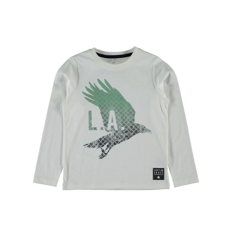 Camiseta estampada 100% algodón niño