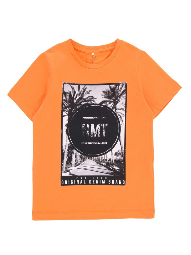 Camiseta estampada algodón orgánico niño