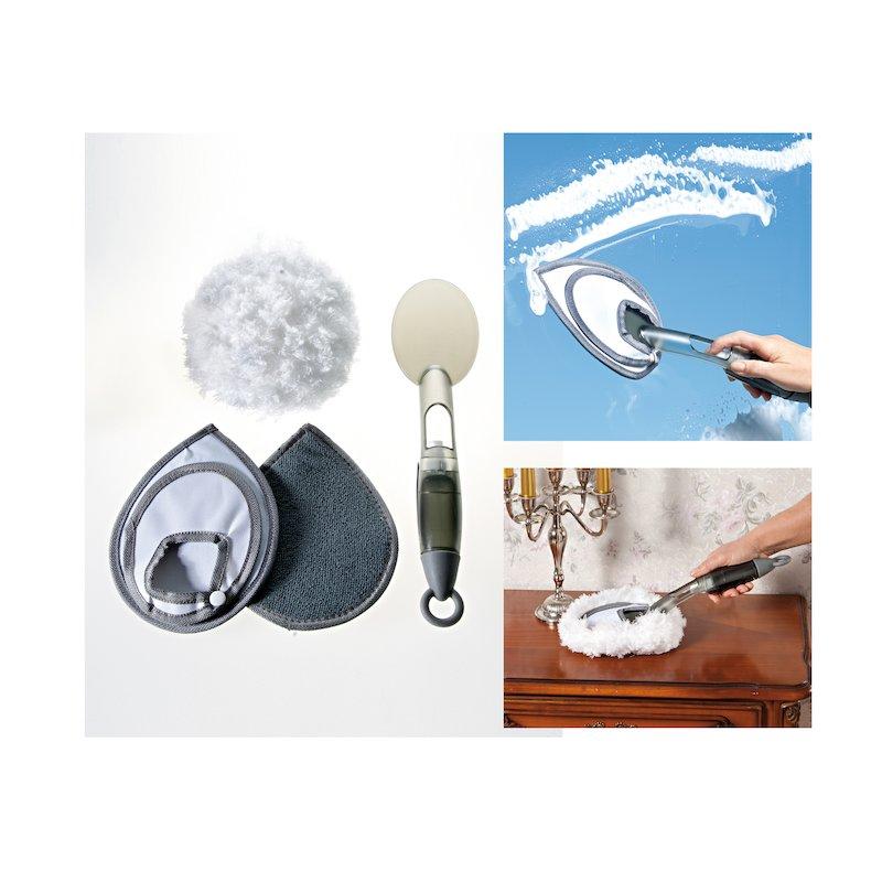 Mopa de mano con accesorios Easy húmedo o seco