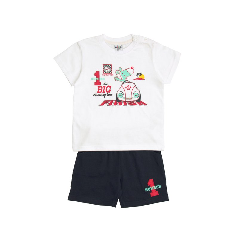 Conjunto deportivo de niño camiseta y pantalon