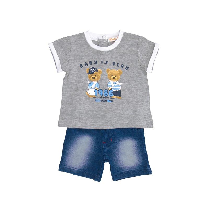 Conjunto 2 piezas niño camiseta y bermuda
