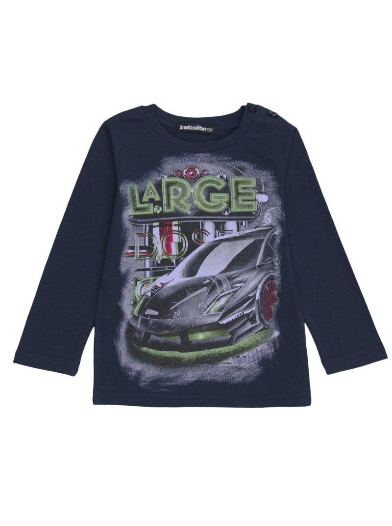 Camiseta manga larga para niño con estampado