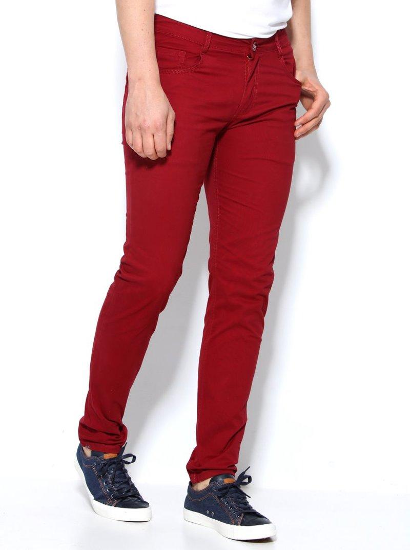Pantalón corte 5 bolsillos para hombre de suave loneta