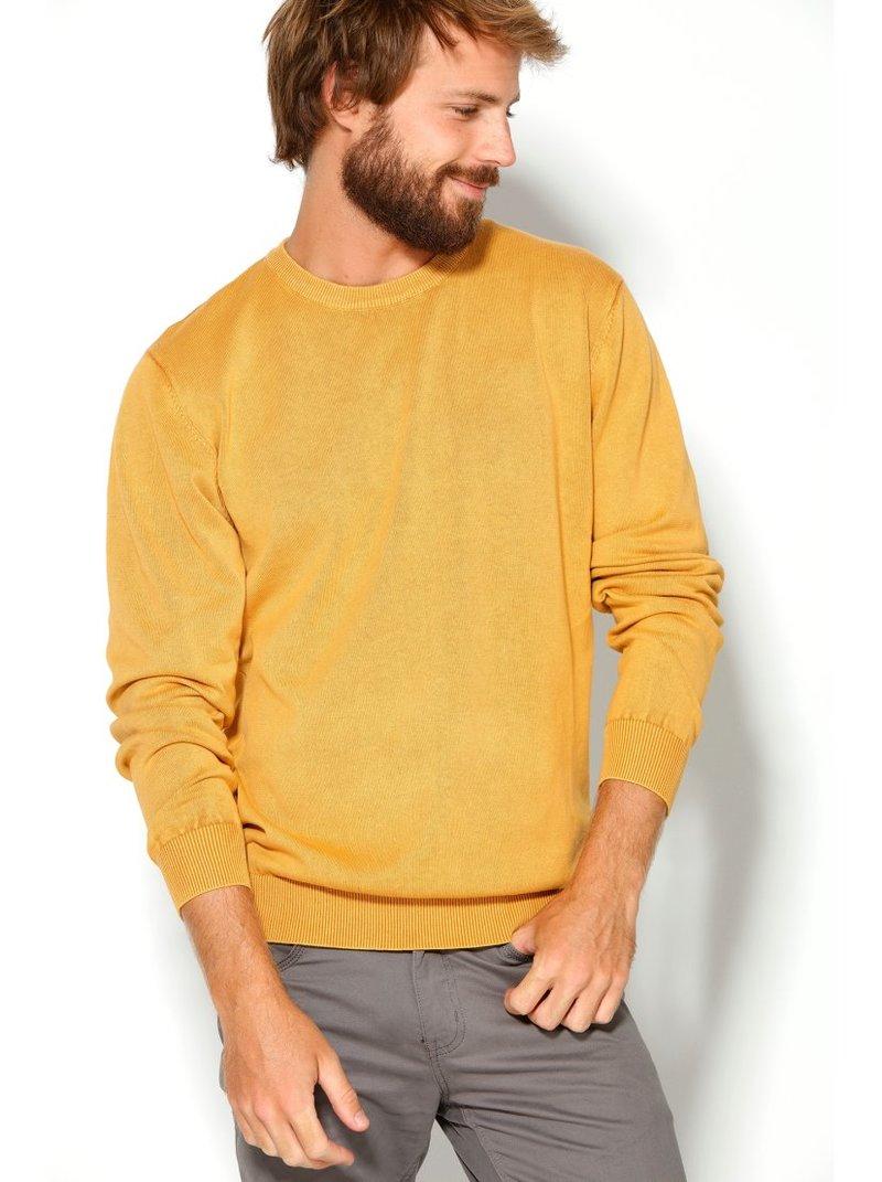 Jersey de hombre con escote redondeado