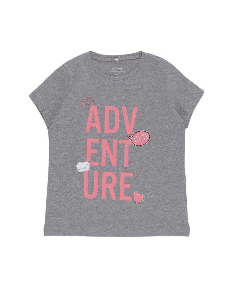 Camiseta estampada niña algodón orgánico