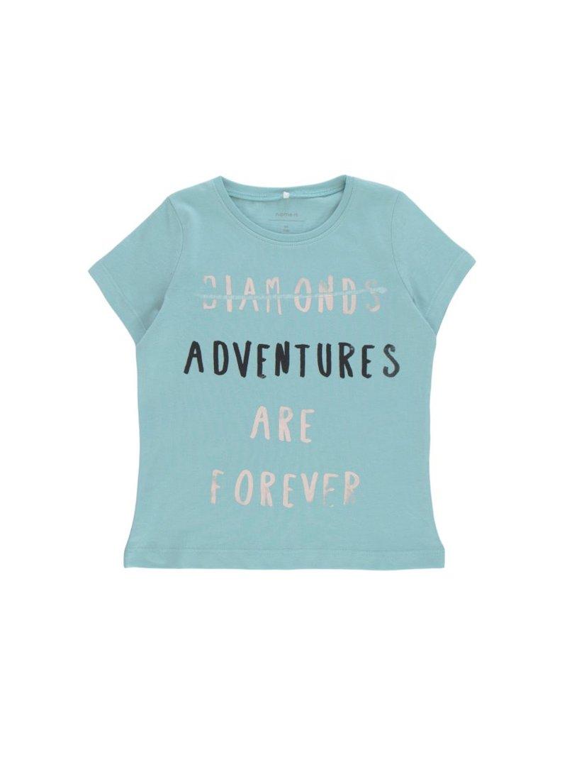 Camiseta 100% algodón con estampado niña