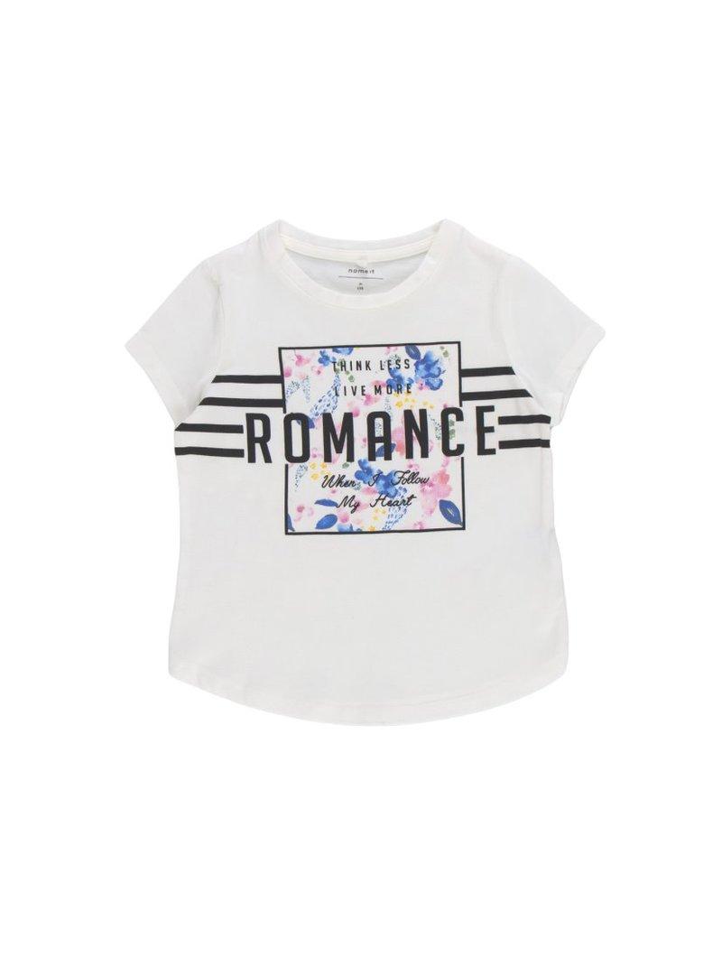 Camiseta Romance en algodón orgánico niña