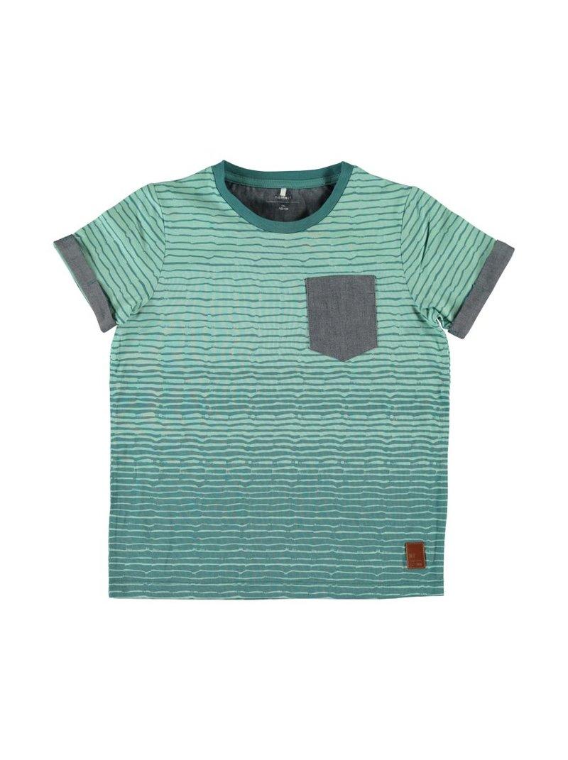 Camiseta de finas rayas algodón orgánico