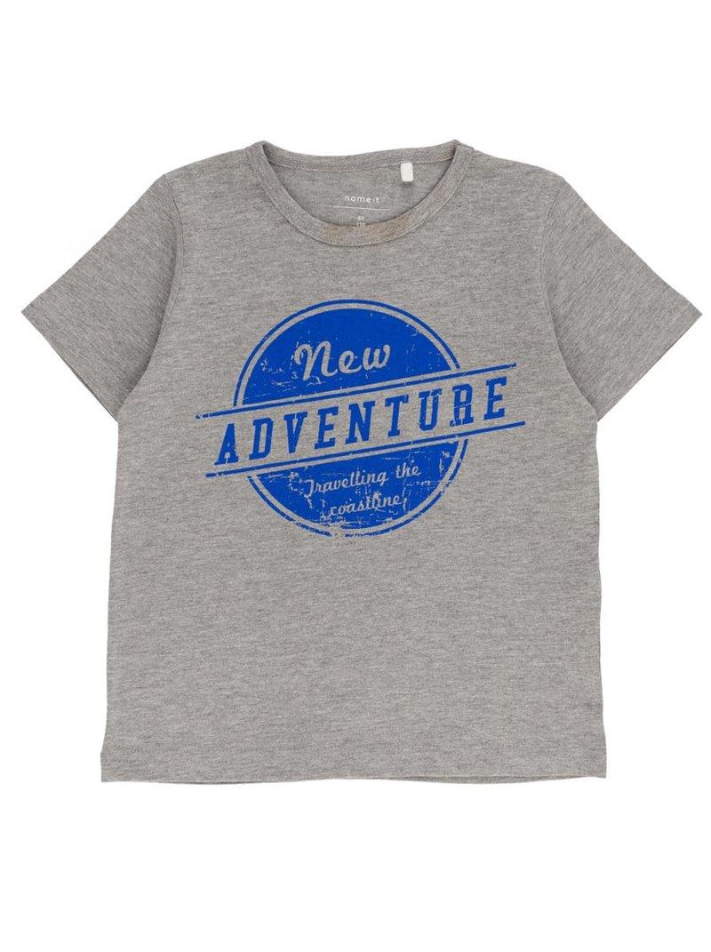Camiseta stampado frontal algodón orgánic