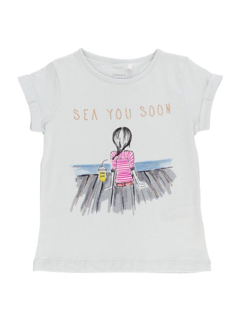 Camiseta niña algodón orgánico estampada