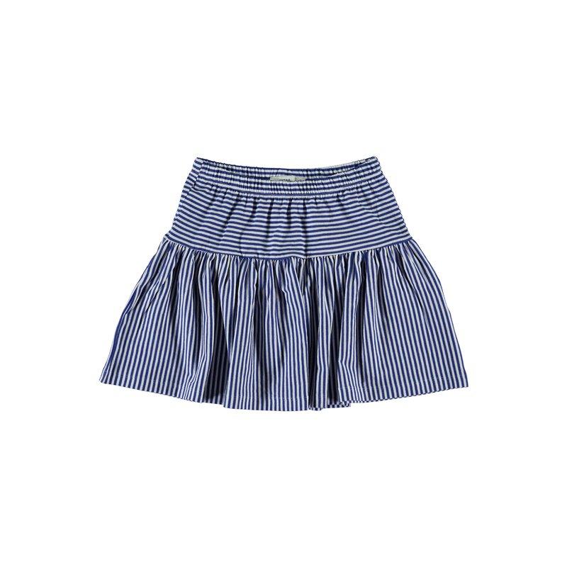 Falda corta en algodón orgánico para niña.