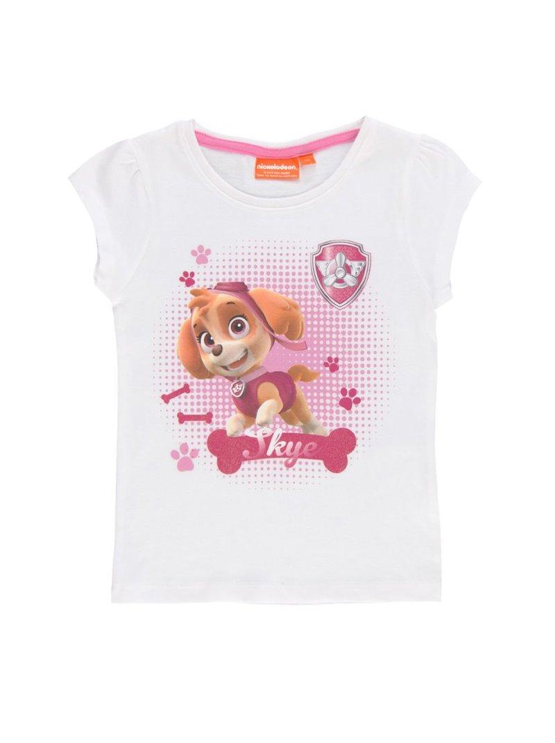 Camiseta de niña estampada Patrulla Canina