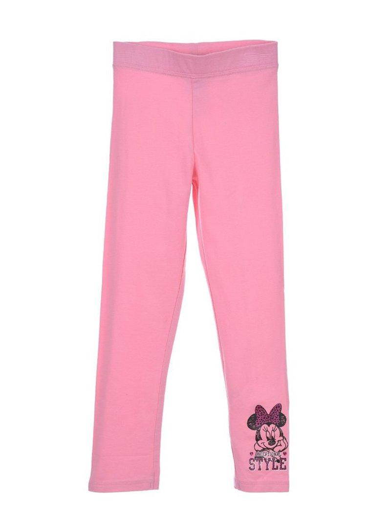 Legging largo niña con estampado Minnie Mouse