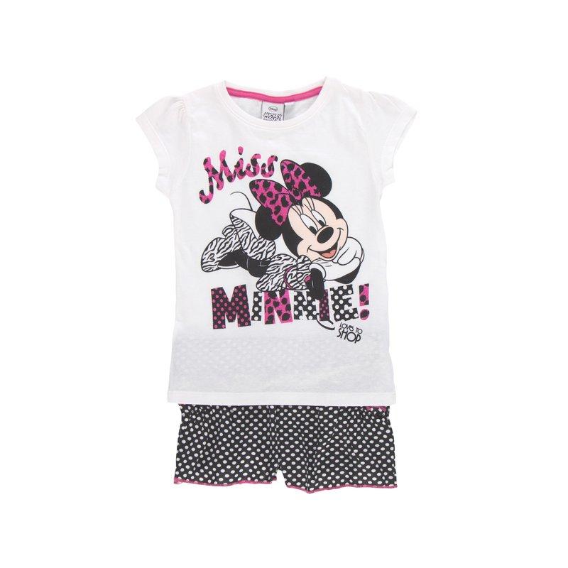 Conjunto niña 2 piezas Minnie Mouse con glitter