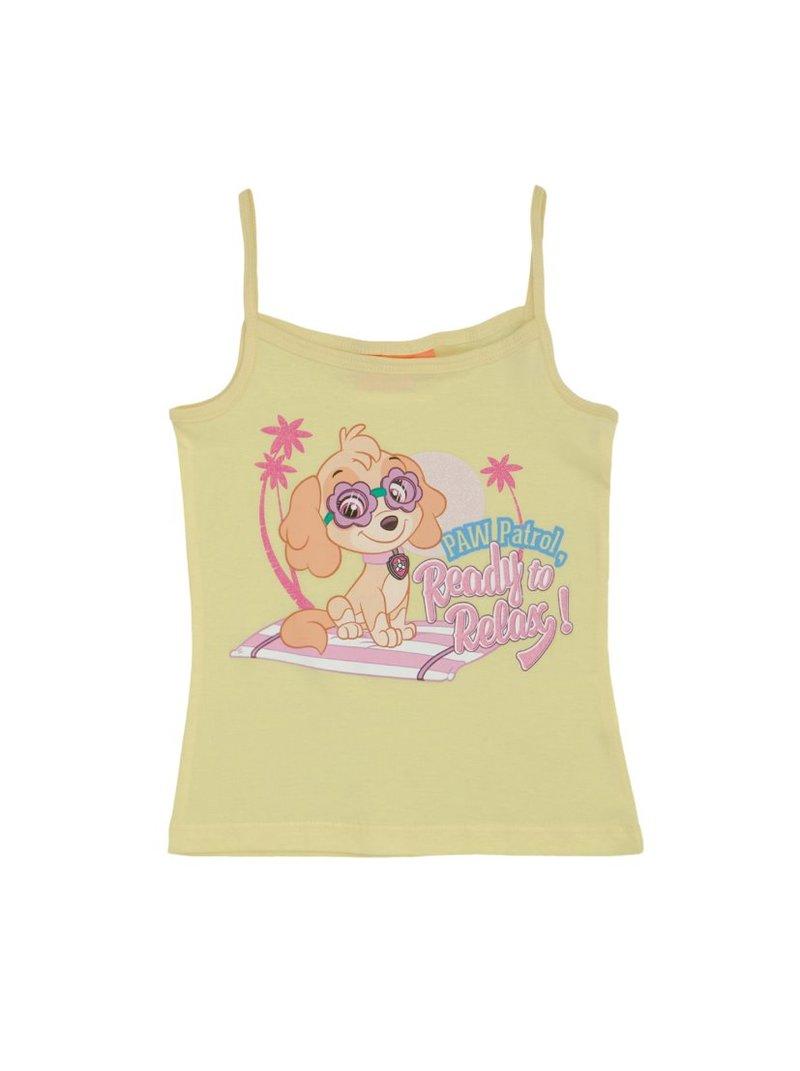 Camiseta de finos tirantes Patrulla Canina niña