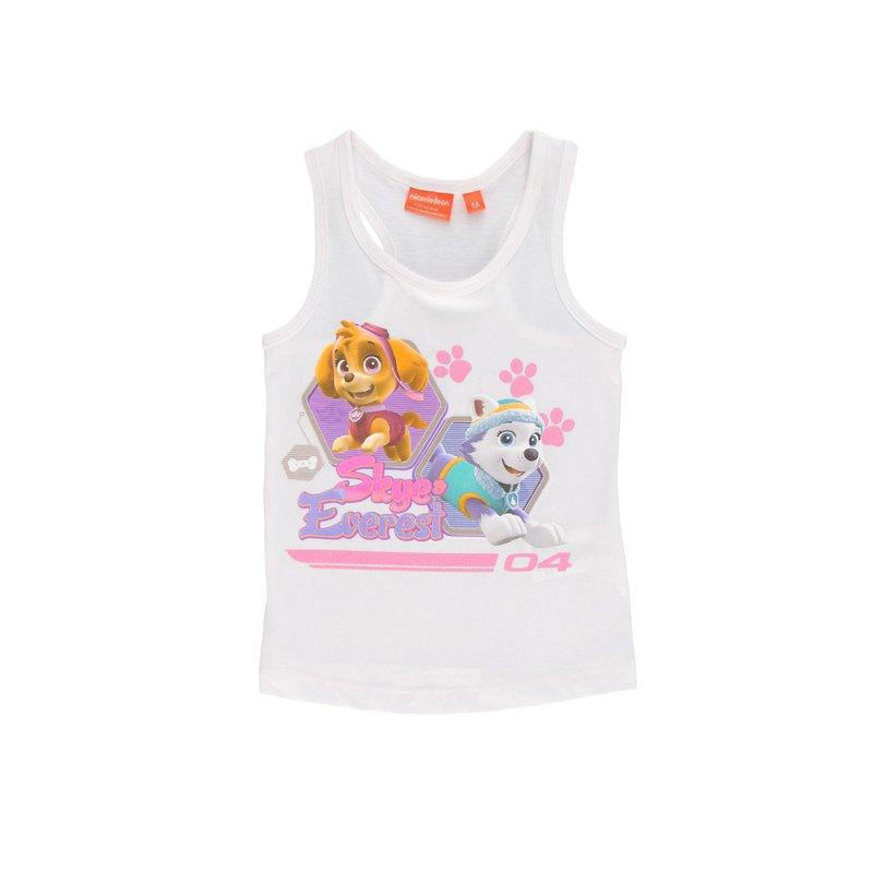 Camiseta de tirantes para niña Patrulla Canina