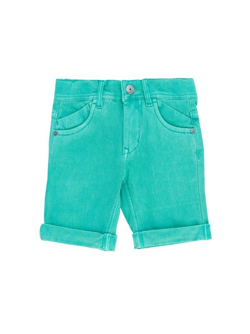 Pantalones bermudas de algodón para niño