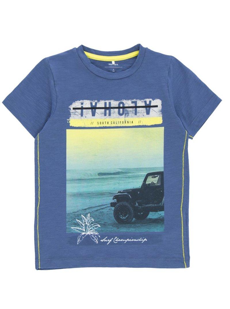 Camiseta estampada en algodón bio niño