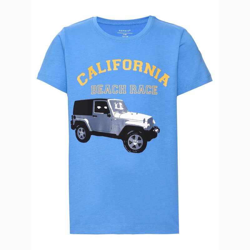 Camiseta para niño en 100% algodón