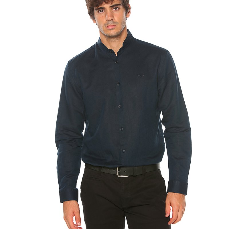 SELECTED - Camisa lino men ANTONIO BANDERAS