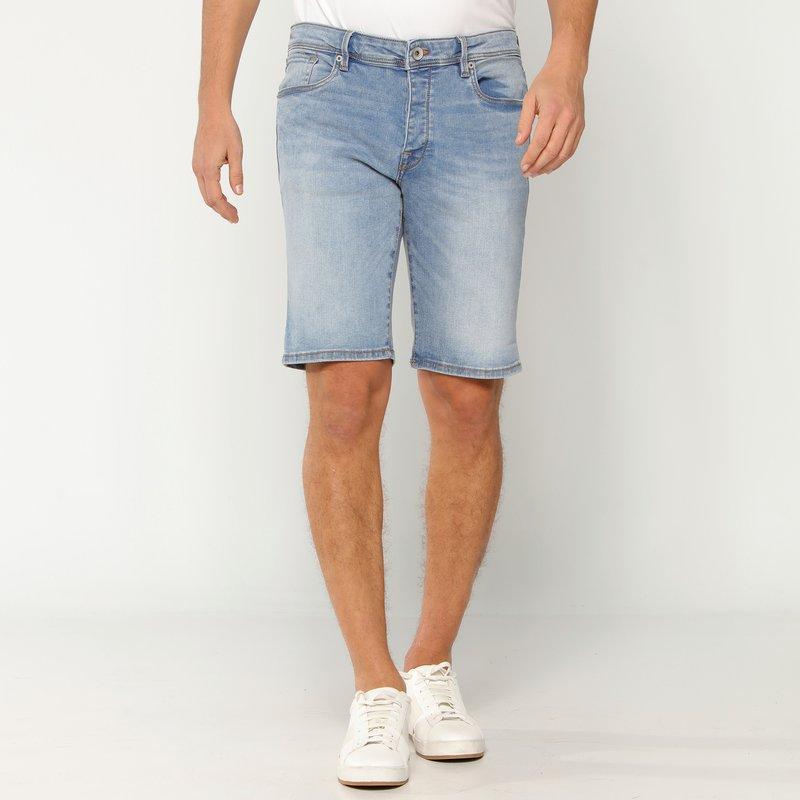 Bermuda pantalón corto vaquero hombre