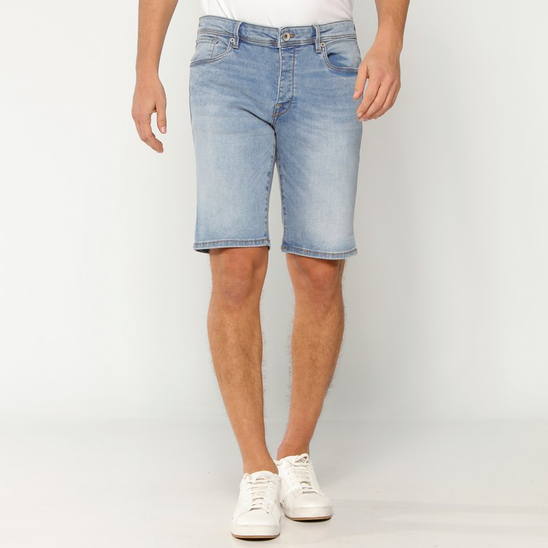 SELECTED - Bermuda pantalón corto vaquero hombre