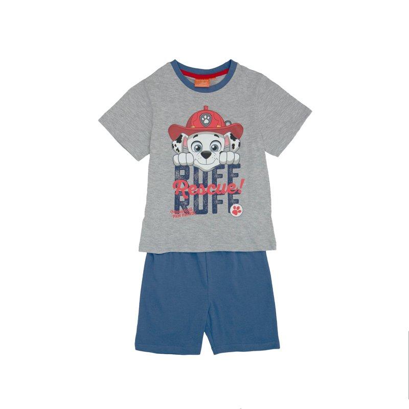 Pijama 2 piezas niño Patrulla Canina manga corta
