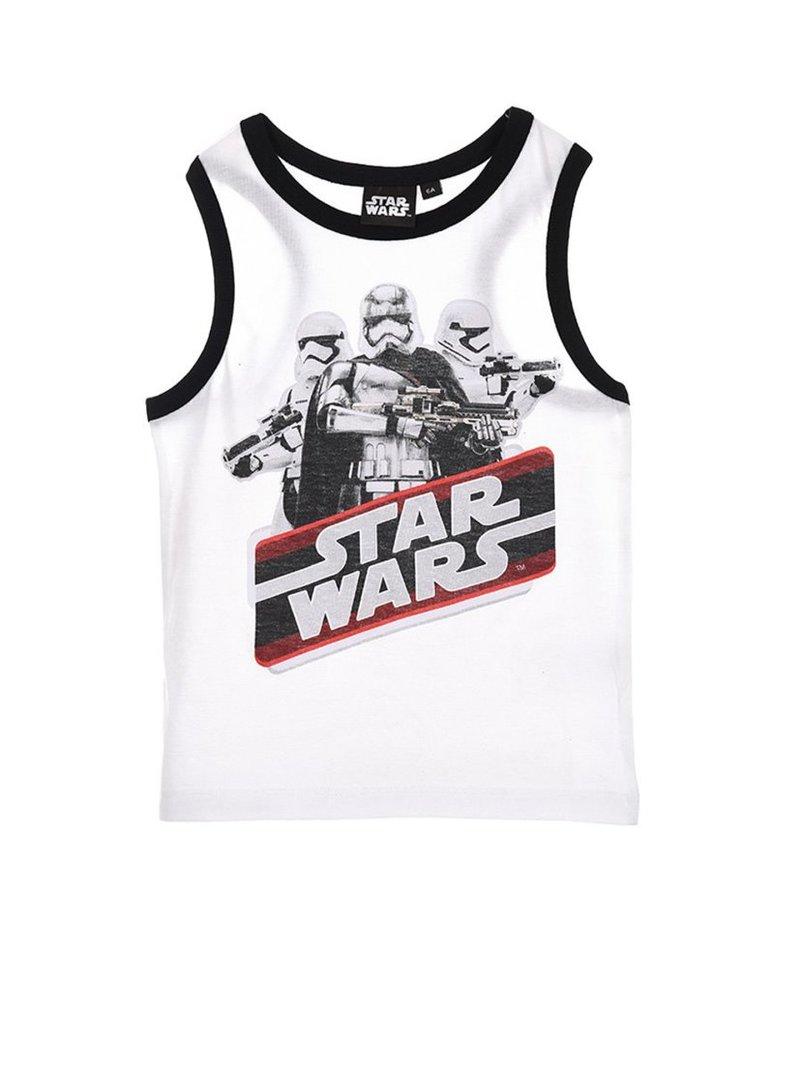 Camiseta de niño sin mangas estampado Star Wars