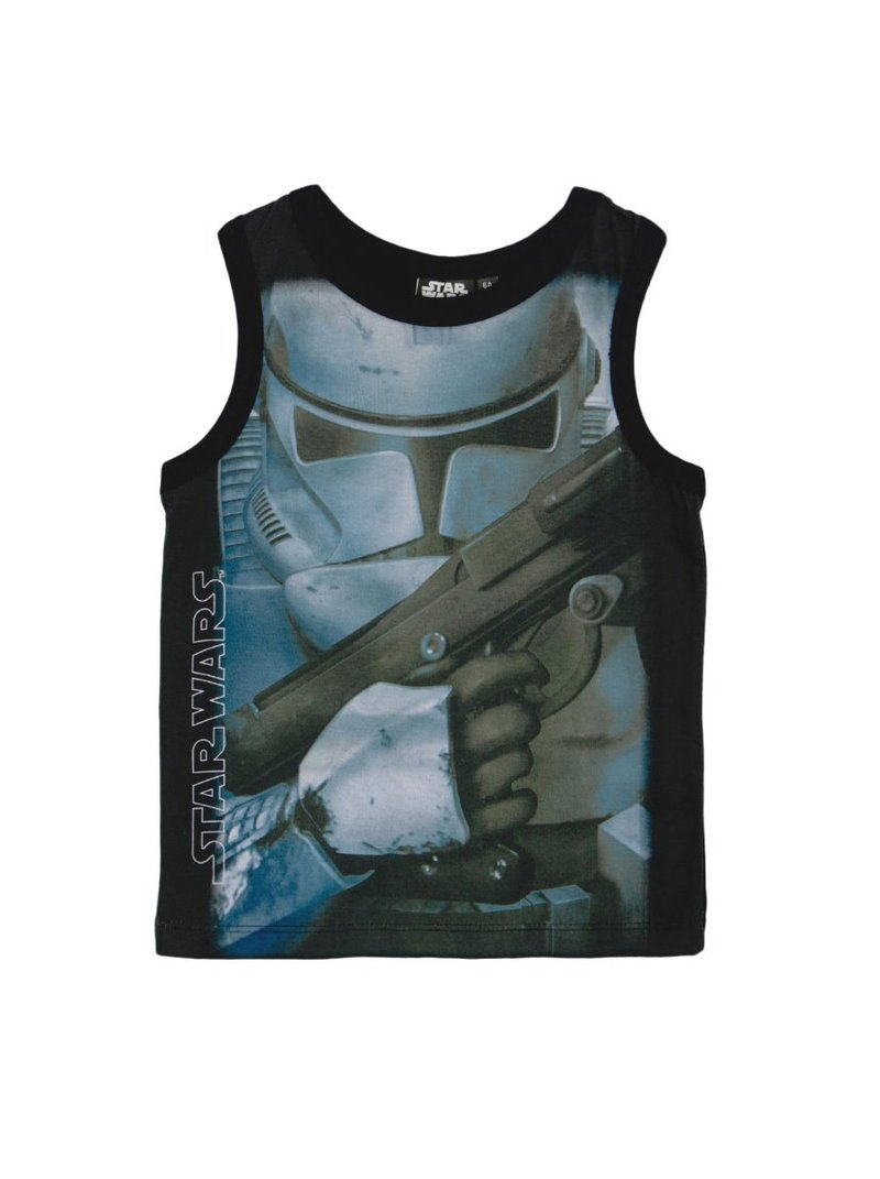 Camiseta de niño sin mangas estampada Star Wars
