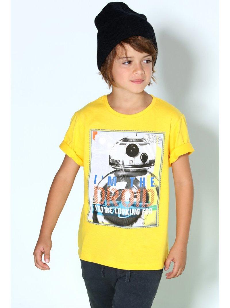 Camiseta de niño manga corta  Star Wars