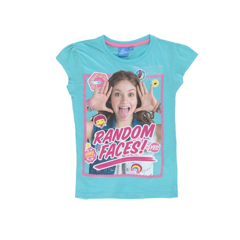 Camiseta de niña Soy Luna con glitter brillante