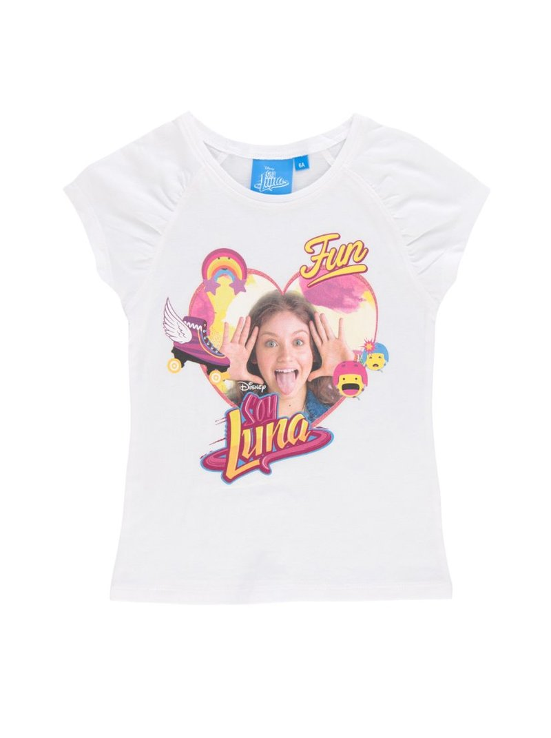Camiseta de niña de Soy Luna de manga corta