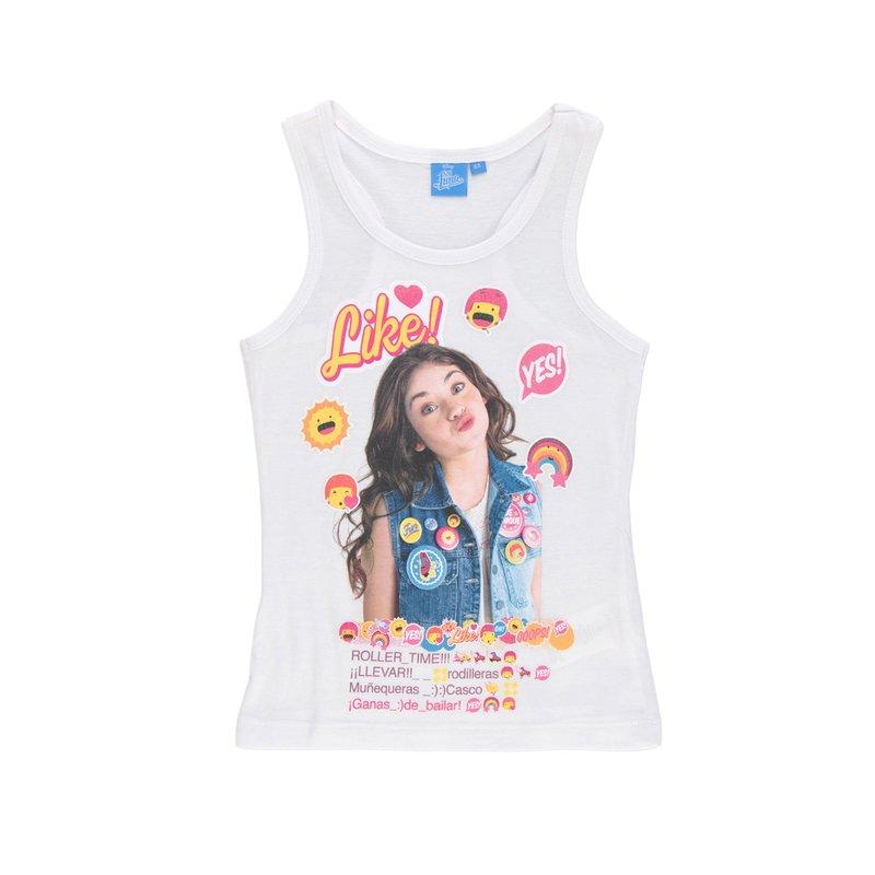 Camiseta de niña sin mangas nadadora Soy Luna
