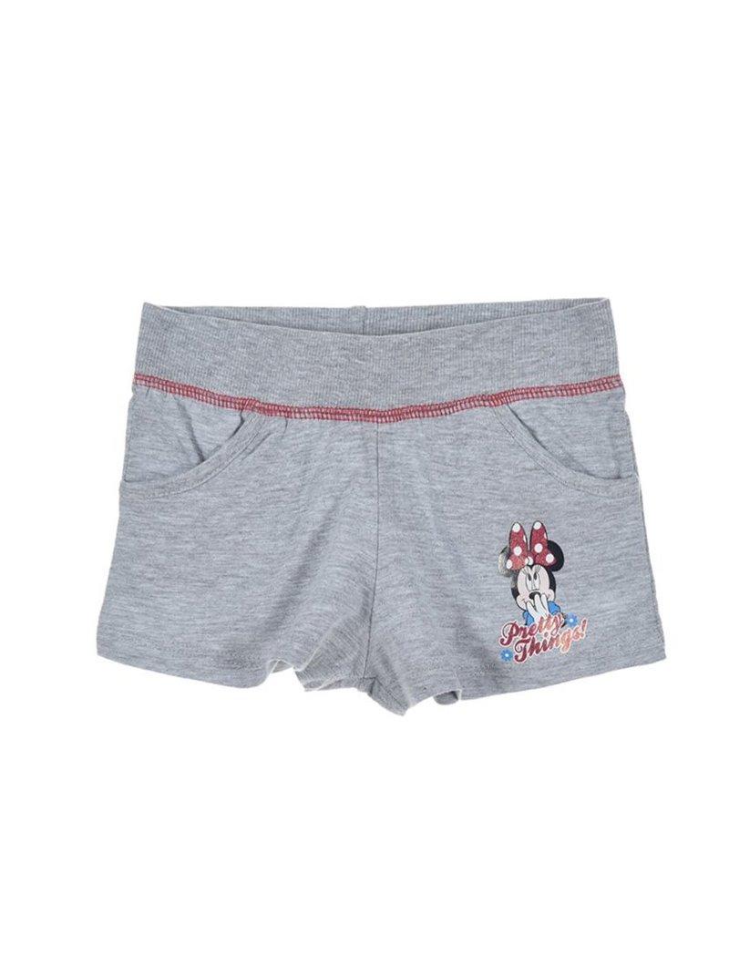 Pantalón short de niña estampado Minnie Mouse