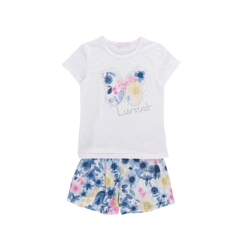 Conjunto de niña 2 piezas camiseta + pantalón