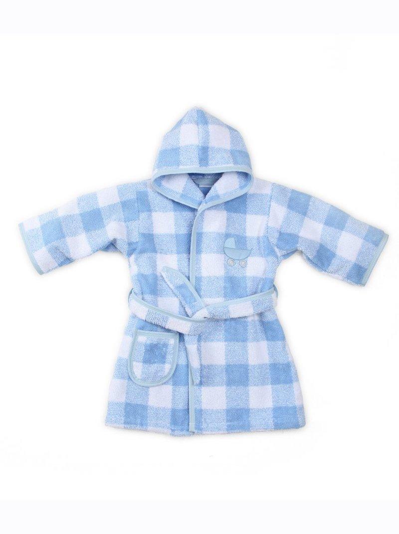Albornoz de bebé con capucha