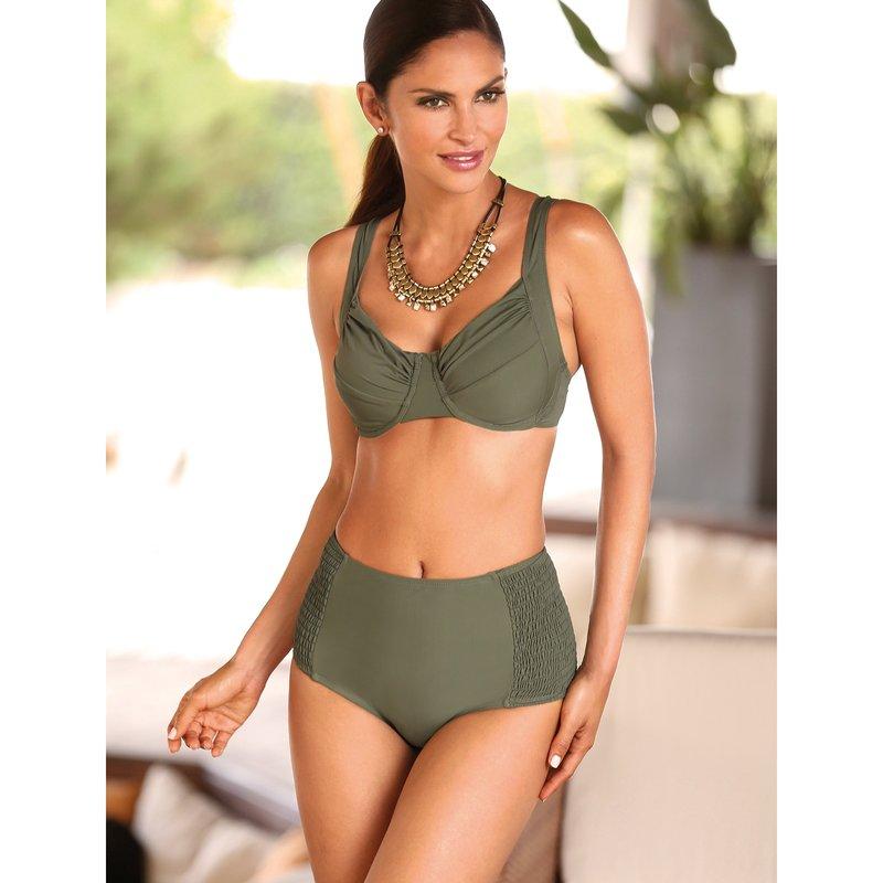 Bikini anchos tirantes y braga alta tallas grandes