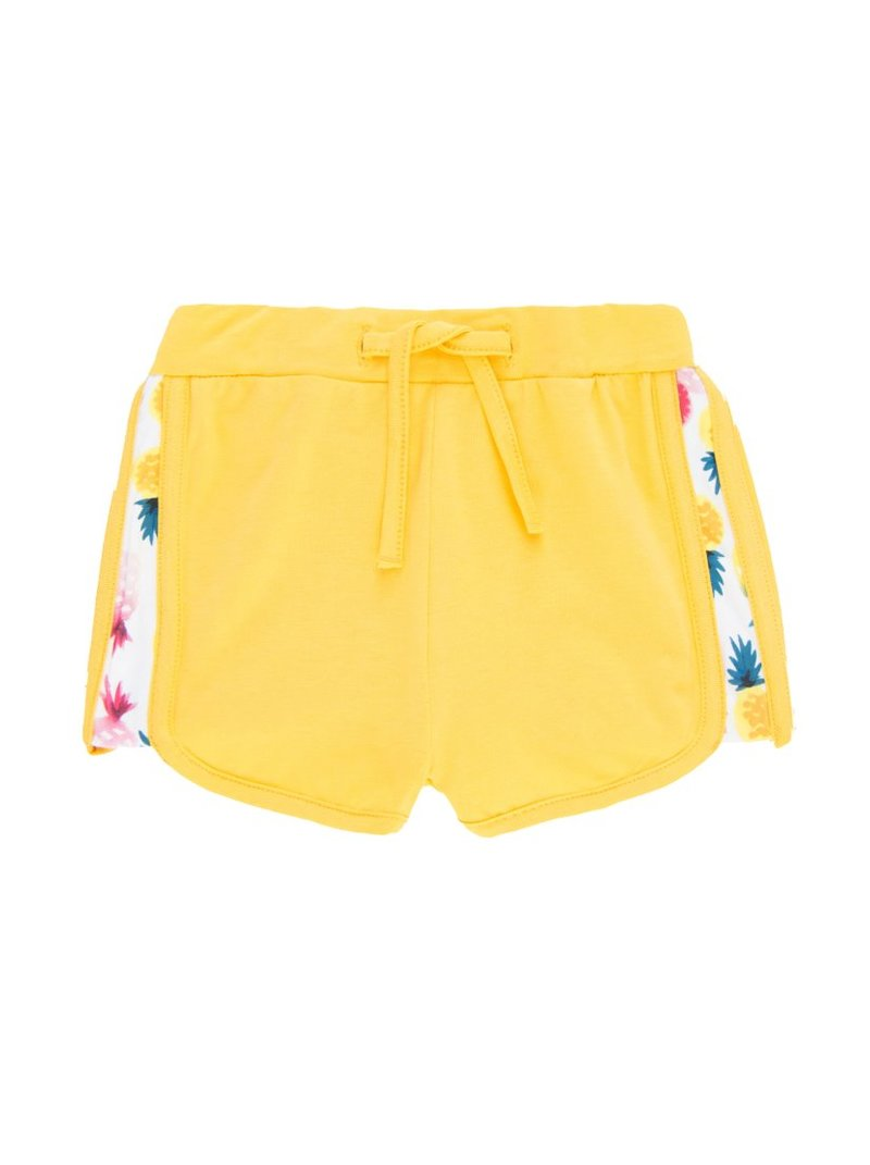 Pantalones cortos niña laterales estampados