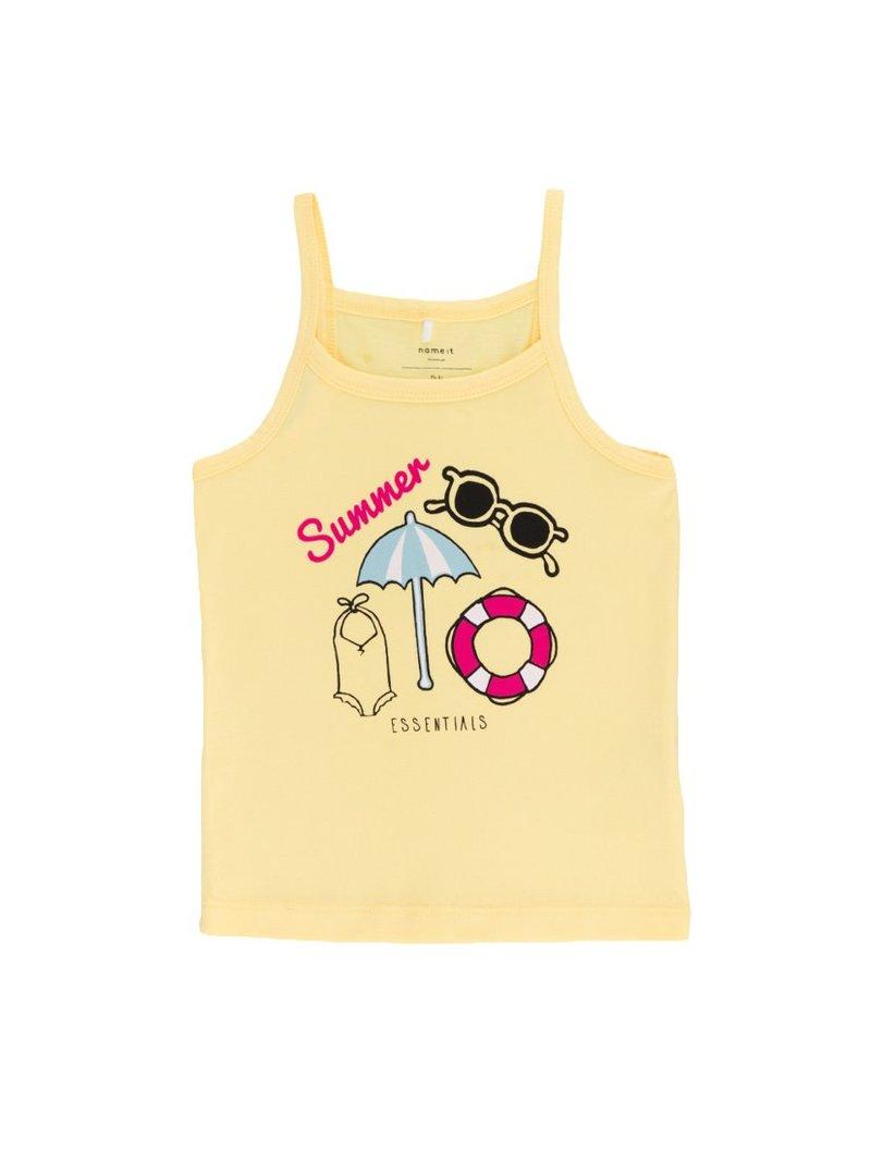 Camiseta tirantes 100% algodón para niña