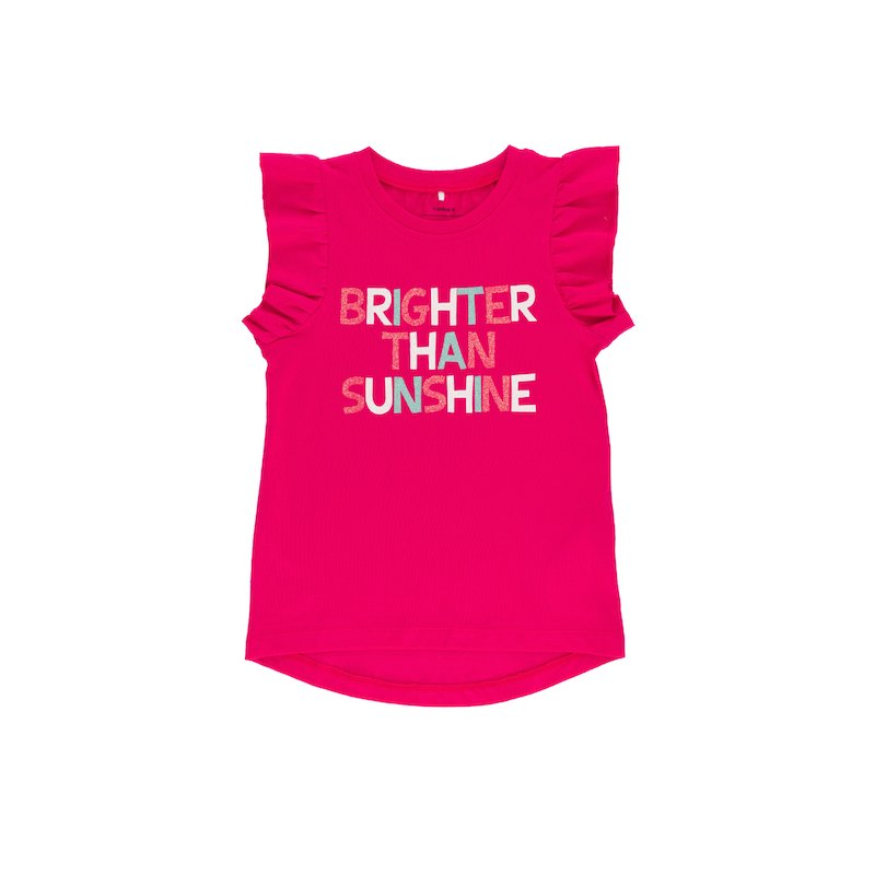 Camiseta niña bajo asimétrico NAME IT