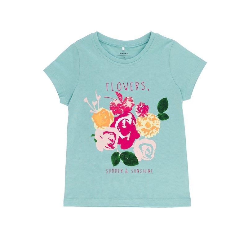 Camiseta niña estampado 100% algodón