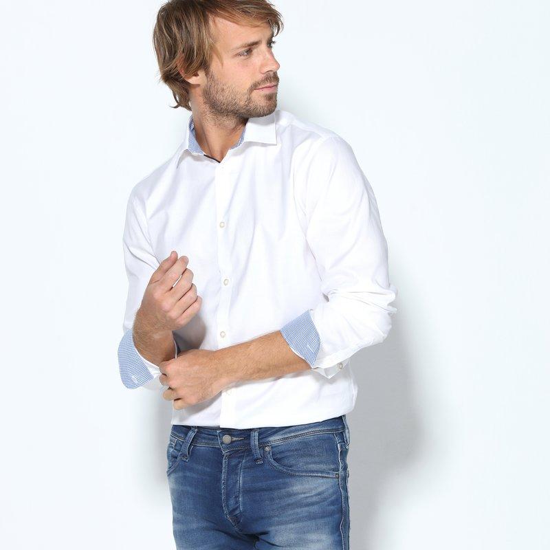 Camisa vestir de hombre slim fit