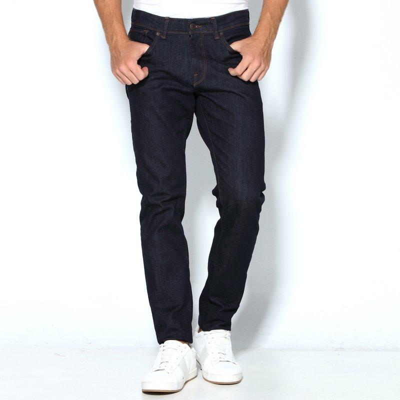 SELECTED - Pantalón vaquero denim elástico corte